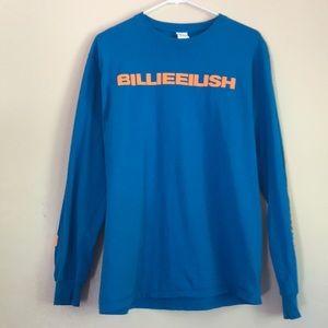 Billie Eilish blue long sleeve